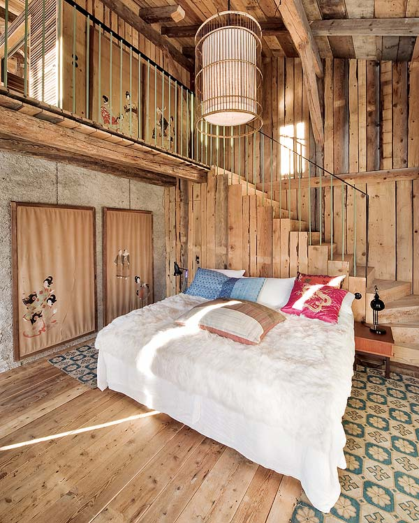 Bohemian Chalet in Alpes by Lionel Jadot9
