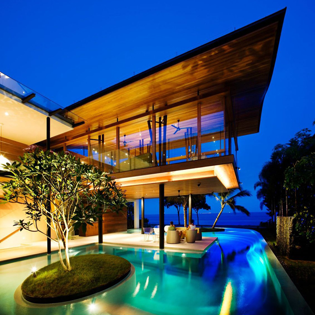 Fish House in Signapore by Guz Architects