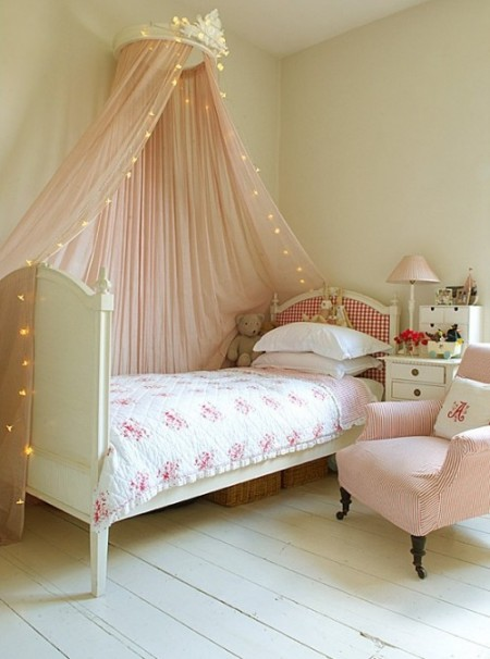 Lavender Grove girls romantic bedroom