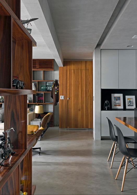 Masculine Loft interiors by Diego Revollo10
