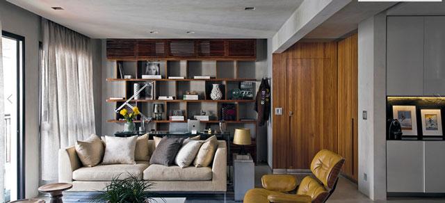 Masculine Loft interiors by Diego Revollo3