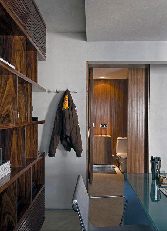 Masculine Loft interiors by Diego Revollo6