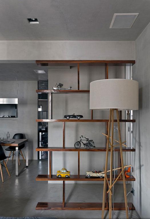 Masculine Loft interiors by Diego Revollo9