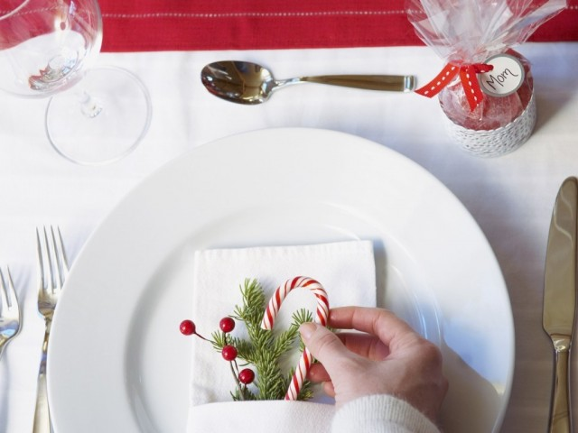 adorable christmas table decorations 20 ideas