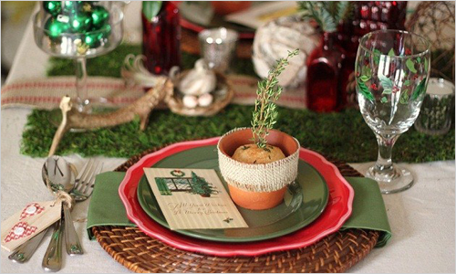 adorable christmas table decorations 27 ideas