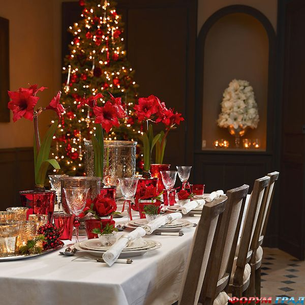 65 Adorable Christmas Table Decorations - Decoholic