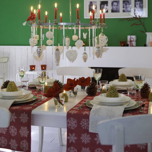 adorable christmas table decorations 56 ideas