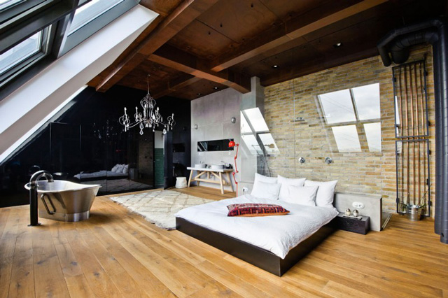 Awesome 13 interiors Loft in Budapest