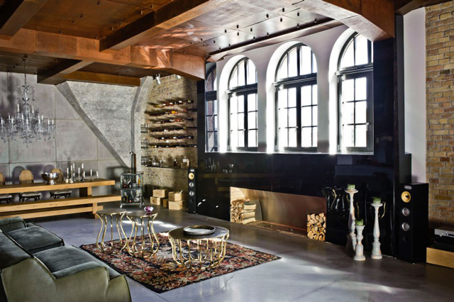awesome industrial style home design | Awesome Loft in Budapest, Hungary - Decoholic