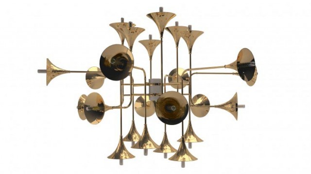 Botti Design Metal Ceiling Lamp by Delighfull2