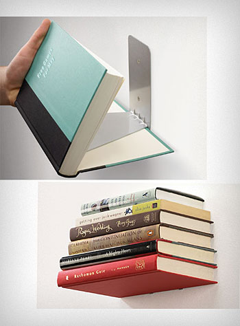 Floating Books Wall Shelf 9 decorating ideas