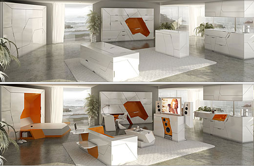 ductional furniture sets solutions for small spaces