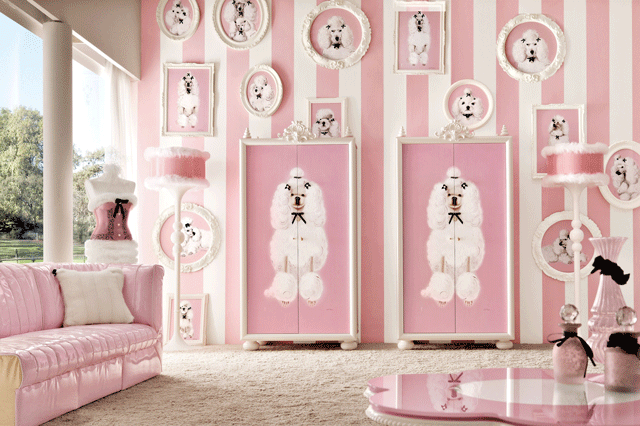 Elegant girls' bedroom furniture collection by the Italian firm ...