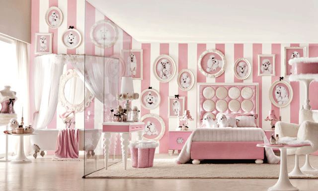 pinkn girls' bedroom furniture