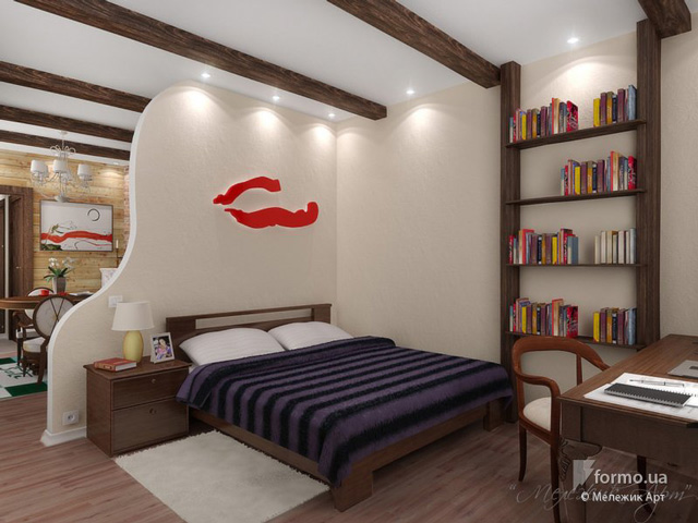 great bedroom ith shelves wdesign 14 ideas