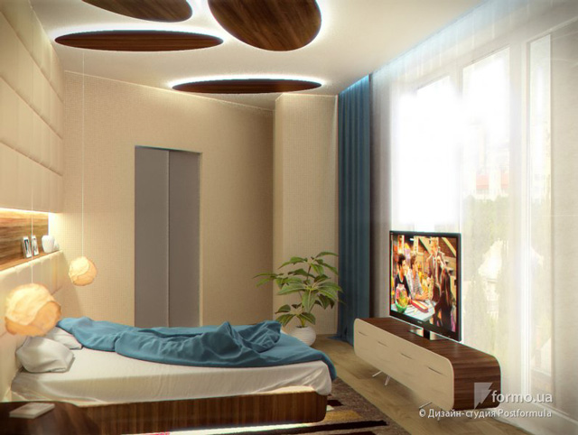 great beige and blue bedroom design 3 ideas