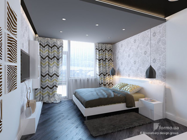great black and white bedroom design 8 ideas