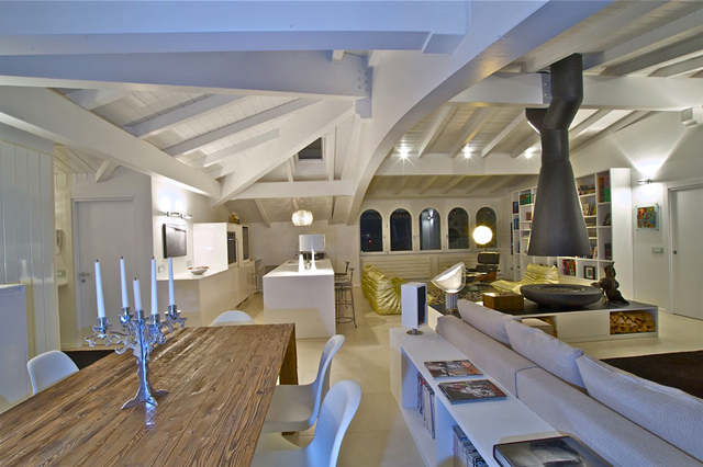 Attic Penthouse interior design ideas by Fabio Gianoli