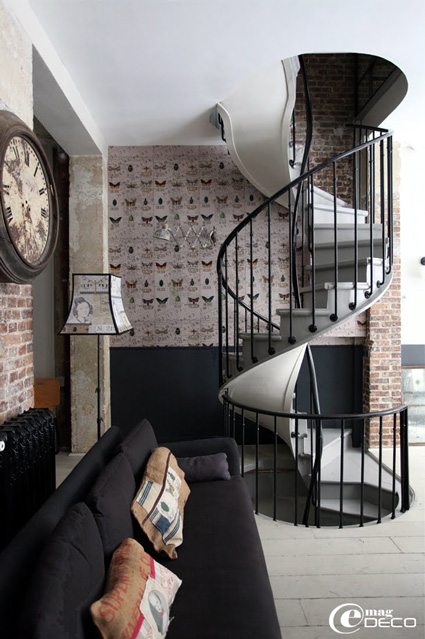 paris loft 12 interiors