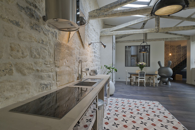 Loft with Amazing Details in Paris18