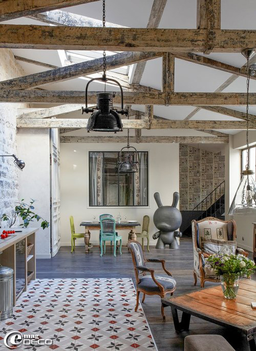 Loft with Amazing Details in Paris4