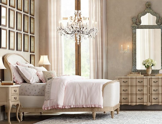 17 awesome rustic romantic girls 39 room ideas decoholic for Rustic romantic bedroom