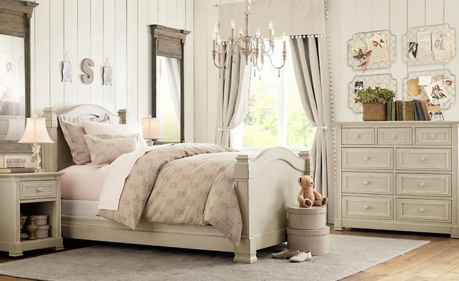 rustic white romantic girls room 3 ideas
