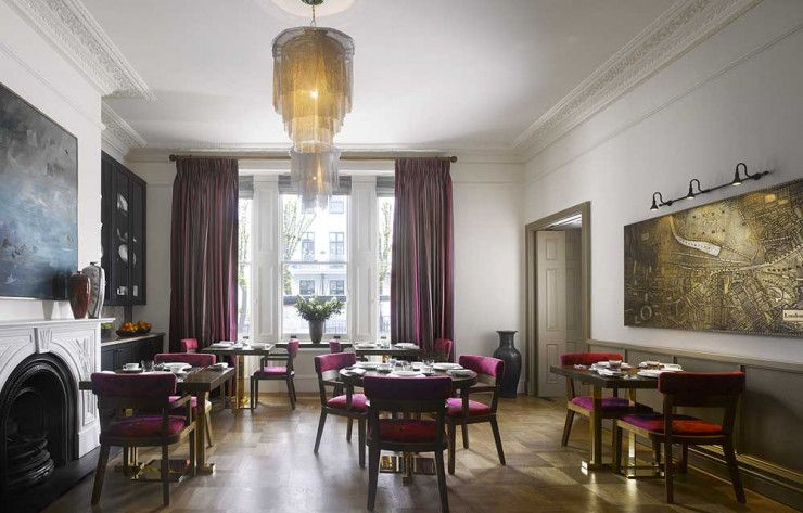Adria boutique hotel in London7
