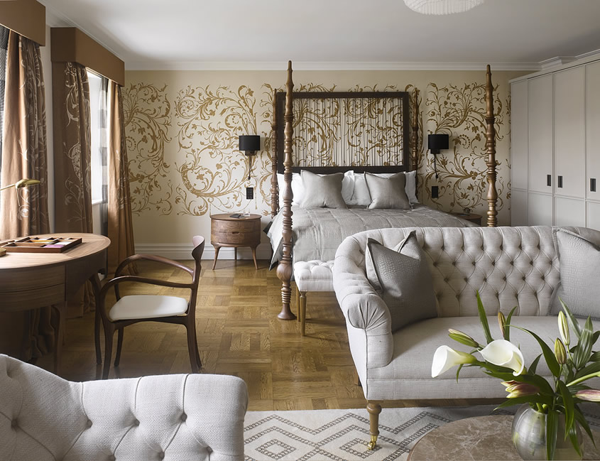 Adria boutique hotel in london decoholic for Boutique hotel