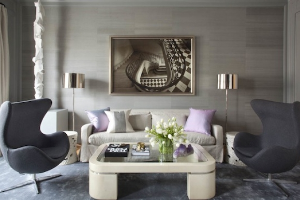 Elegant interior design by benjamin dhong decoholic for Interior design living room elegant