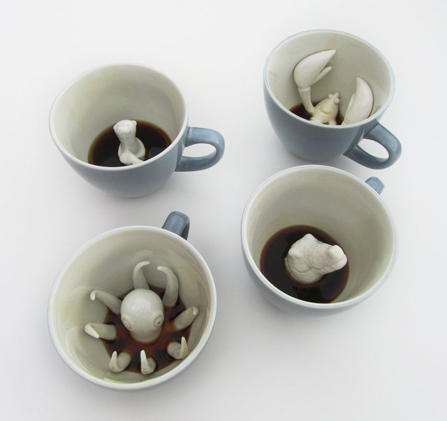 Funny Creature Cups