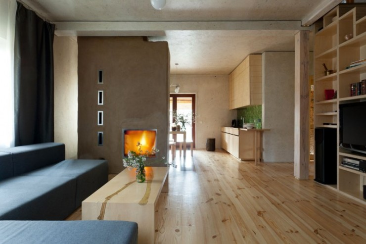 House in the Log Cabin by Ryntovt Design2