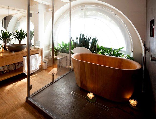 Ofurò Contemporary Wood Bathtub