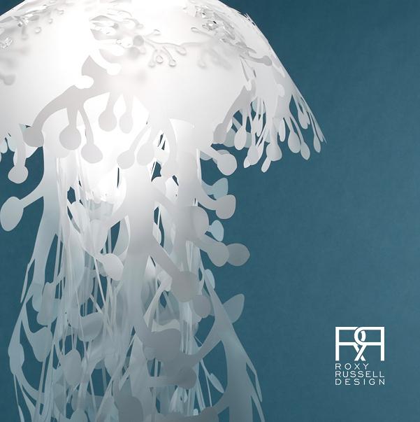 ocean inspired meduasae pendant lamps 3