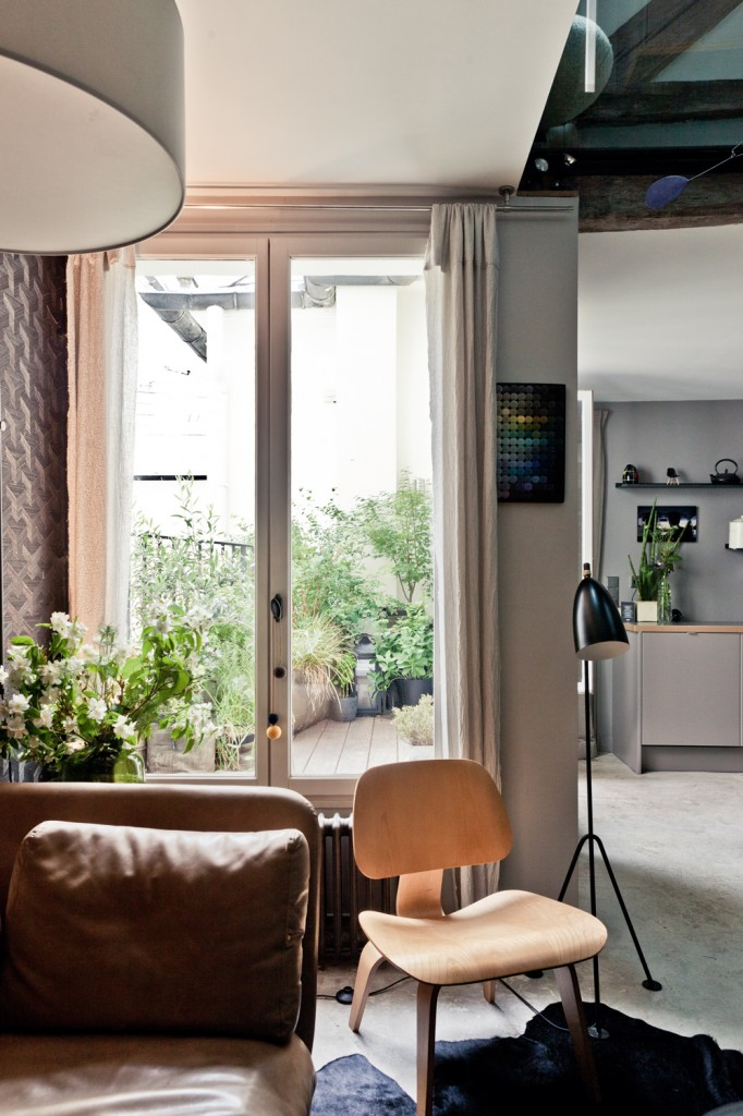 attic house 6 interior design in paris