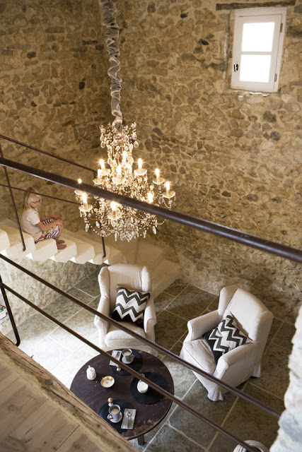 Antique Farm Turned Into Dream Stone House 3 interiors