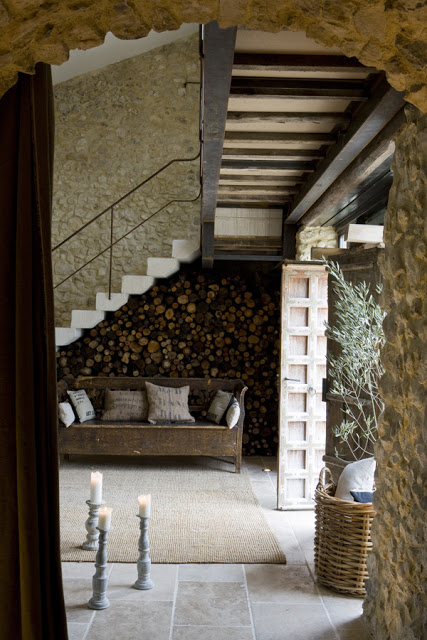 Antique Farm Turned Into Dream Stone House 6 interiors