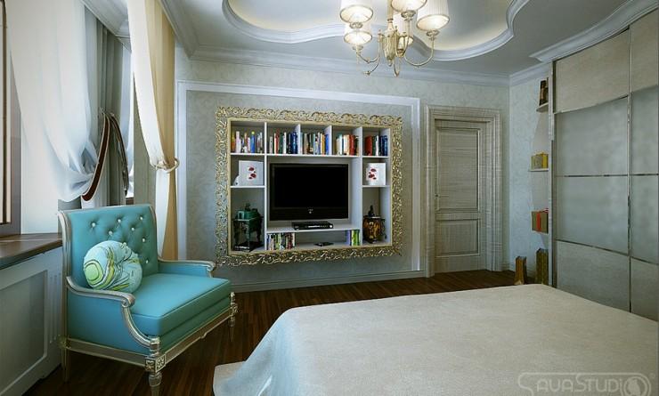 turquoise luxury bedroom by sava studio2