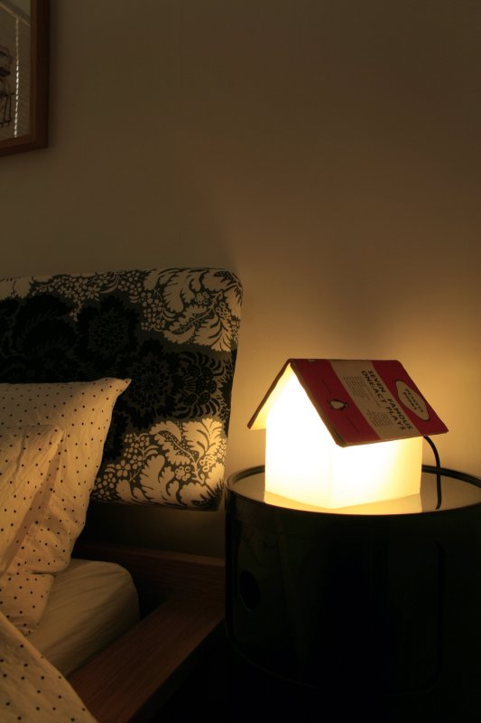 Just 4 Add Your Favourite Book Bookrest Lamp