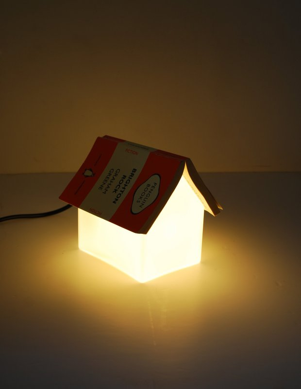 Just Add Your Favourite Book Bookrest Lamp