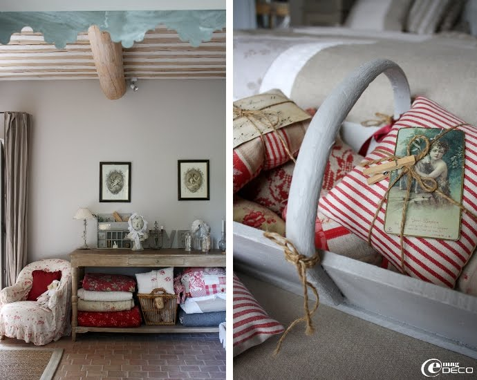 Dream shabby chic house in france decoholic - Deco chambre campagne chic ...