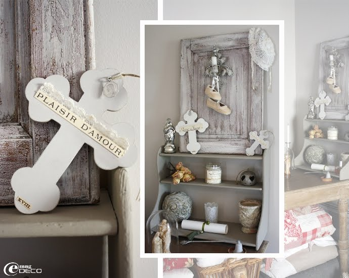 Dream shabby chic house in france decoholic for Cheminee shabby chic