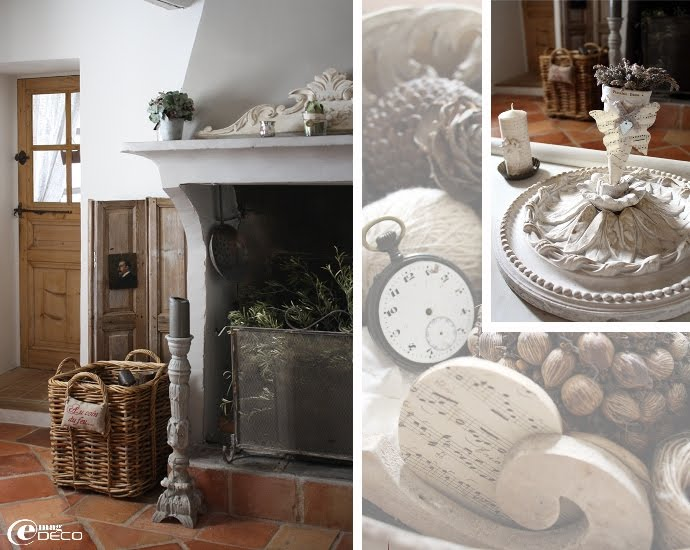 Dream shabby chic house in france decoholic - Decoration maison de famille ...