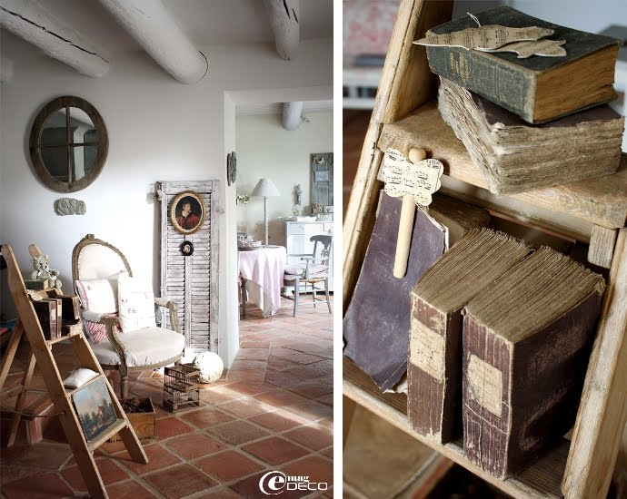 Dream shabby chic house in france decoholic for Decoration interieur maison provencale