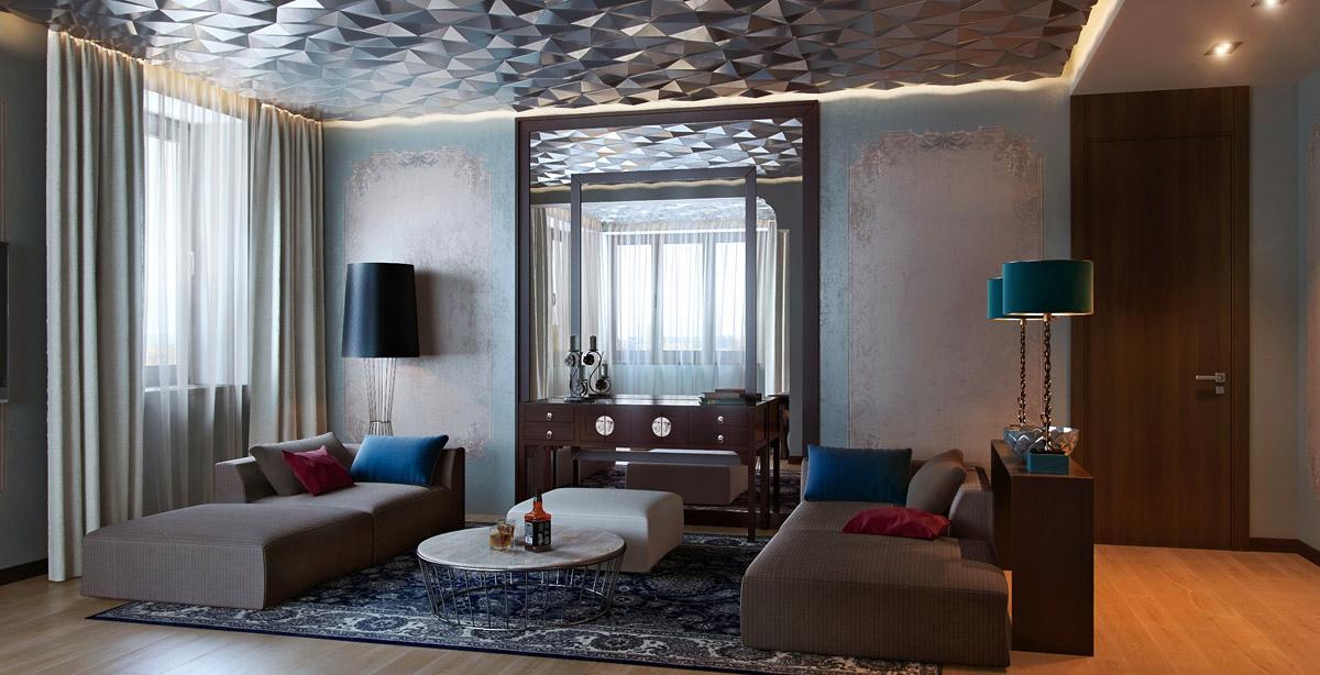 Earth Tones Living Room 3 Contemporary Designs