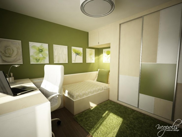 green kids room by neopolis