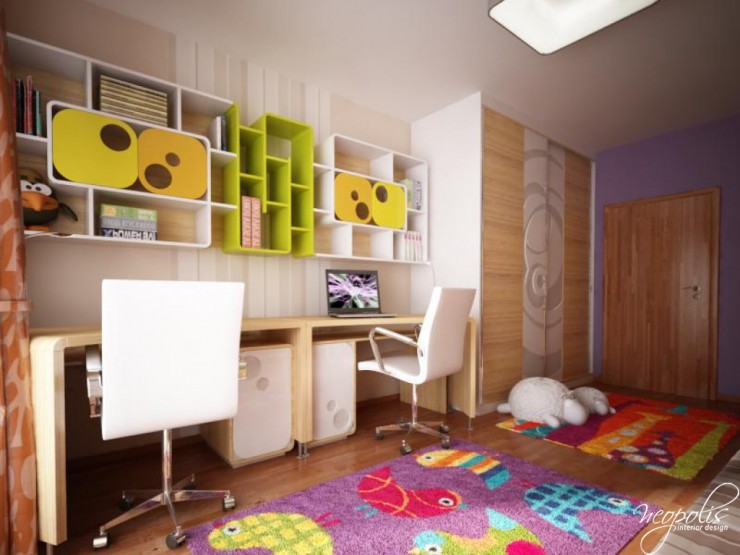 kids room 2 designs by neopolis