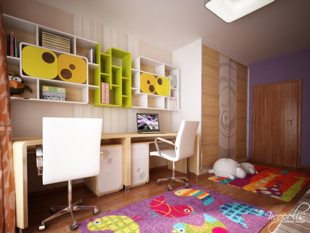 31 well designed kids 39 room ideas decoholic for Latest children bedroom designs