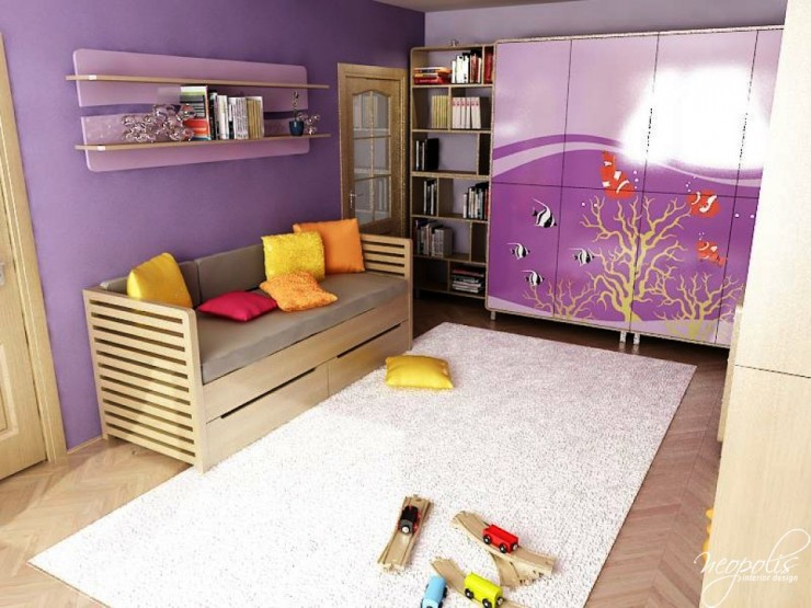 purple kids room 24 design by neopolis