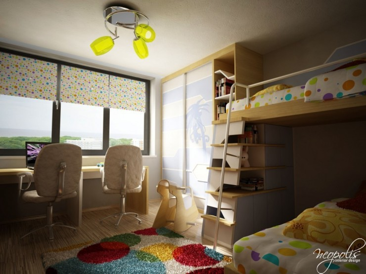 well designed kids room by neopolis